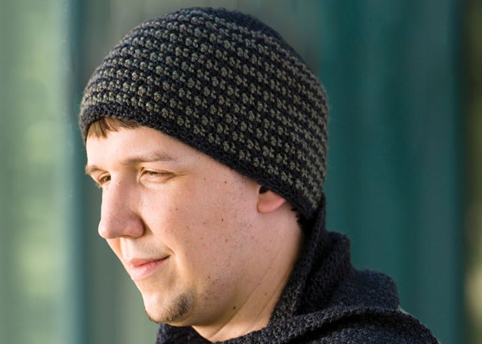 Crochet Hat Free Pattern Man : Free Crochet Patterns for Men: Hat, Beanie, Scarf, and ...