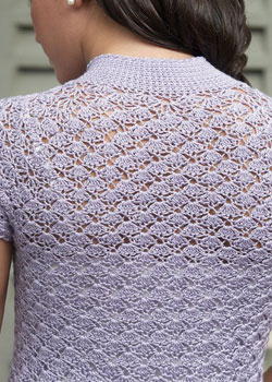 Learn shaping for seamless crochet including this top down crochet tunic.