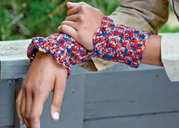 Crochet Stitch Patterns: Quick Cuffs