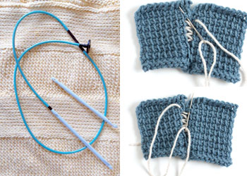 How to Do Tunisian Crochet: Articles on Selecting Hooks and Seaming