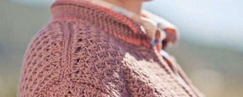 Tunisian Crochet Pattern: Barn Jacket