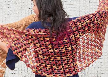 Crochet Wedding Shawl: Esther Shawl by Lana Holden