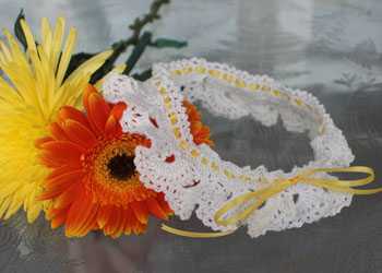 How to Make a Wedding Garter Pattern: Ruffled Garter by Toni Rexroat