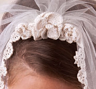 Create your very own veil and more with these wedding patterns.