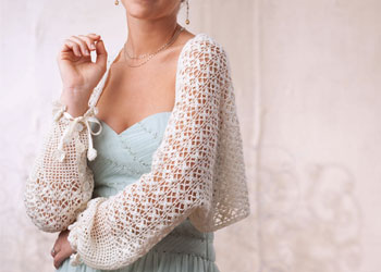 Wedding Shawl Pattern: Shape Shifting Shawl by Tracy St John