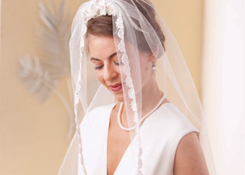 Wedding Veil Patterns: Wedding Veil by Christina Marie Potter