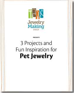 Instructions to make personalized pet jewelry for dogs and other pet jewelry