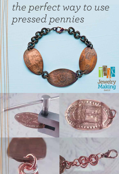 Learn how to make jewelry with coins the easy way in this free guide on jewelry making for beginners exclusively from Jewelry Making Daily.