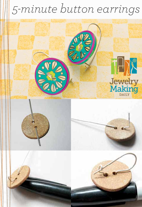 Learn how to make earrings the easy way in this free guide on jewelry making for beginners exclusively from Jewelry Making Daily.