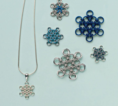 how to make winter jewelry