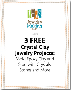 Learn how to make clay jewelry with epoxy clay techniques.