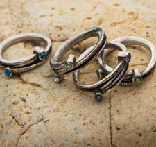 Learn about how to set stones in rings at JewelryMakingDaily.com!