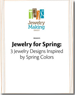 Instructions to make spring-inspired jewelry