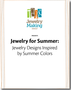 Instructions to make summer-inspired jewelry