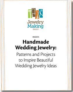Learn how to make handmade wedding jewelry for brides