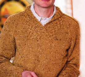 Knitting Patterns, Mens Sweaters: Terry's Pullover