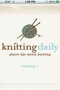 Free Knitting Daily App Screenshot