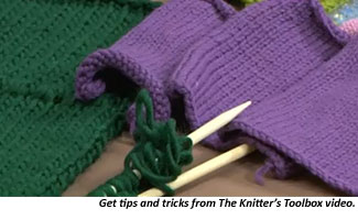 Learn to knit with tips, techniques and tricks from top knitting experts.
