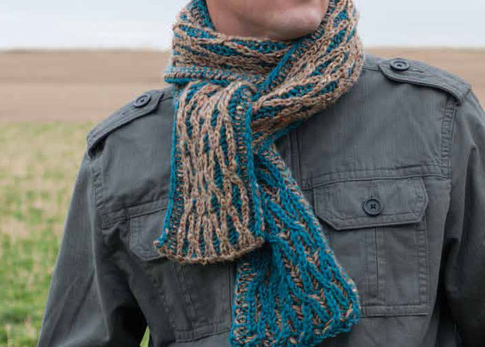 Knitting Brioche Stitch Scarf : Free Brioche Stitch Knitting Guide + 5 Patterns - Knitting Daily