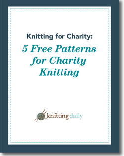 Download your 5 free patterns for charity knitting!