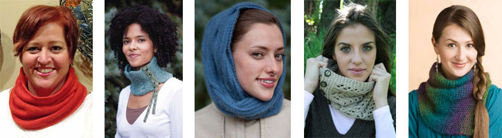 From cables to lace, simple to sassy, find the perfect knit cowl pattern for you.
