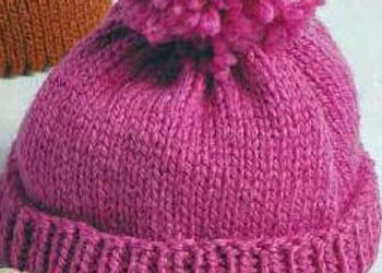Easy Knitting Pattern: Easy Knitted Hat