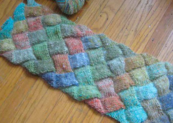 Easy Entrelac Knitting Tutorial: Basic Entrelac Scarf by Lisa Shroyer