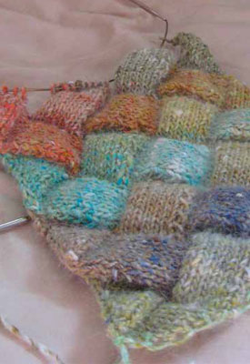 Follow along entrelac instructions from beginner to more advanced to make your own entrelac masterpieces.
