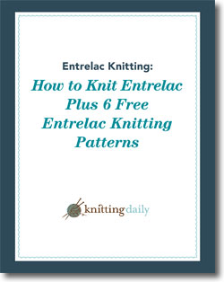 Don't forget to download this free eBook to discover the how to knit entrelac patterns.