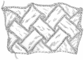 How to Knit Entrelac: Knitting Block by Block by Eunny Jang