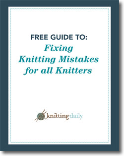 Download your free guide to fixing knitting mistakes today!