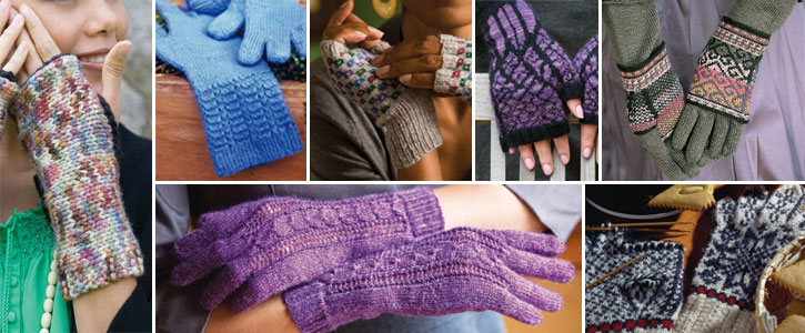 Knit your pick of these free patterns for gloves and fingerless gloves.