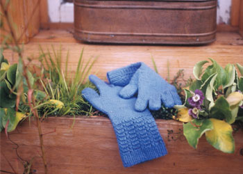 Garden Glove Knitting Pattern: Uncommon Gardening Gloves