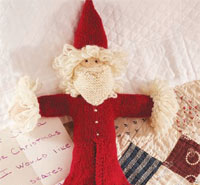 Knit Father Christmas by Ann Budd