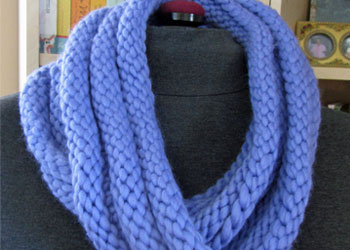 Quick Knit Infinity Scarf Pattern : 7 Free Infinity Scarf Patterns - Knitting Daily
