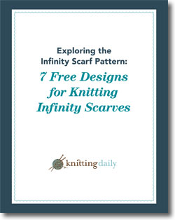 Don't forget to download your infinity scarf pattern free