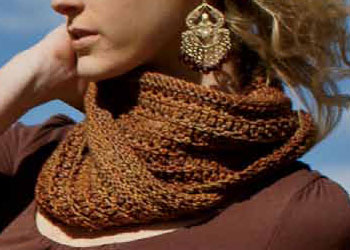 Infinity Scarf Knitting Pattern: Roam Cowl by Jennifer Dassau