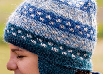 Hat Knitting Pattern: Penobscot Bay Hat by Cyrene Slegona