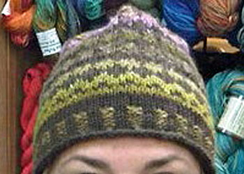 Knit a Hat: Faux Isle Hat by Kathleen Cubley