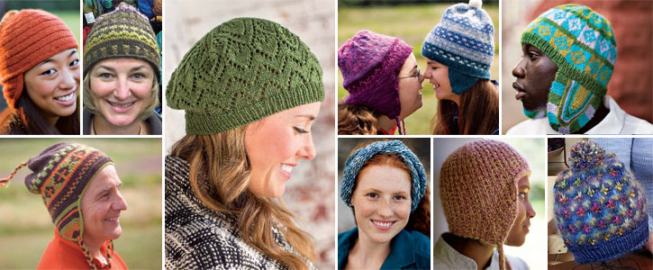 Get all 10 of these knit hat patterns in this free download.