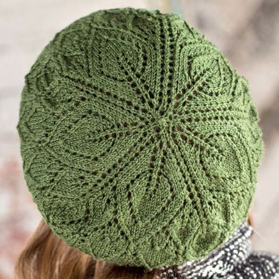 Find all sorts of designs, including this one, to knit hats for women.
