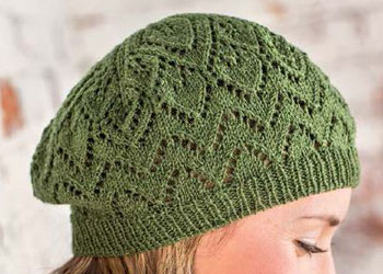 Beret Knitted Hats: Salunga Beret by Amy Christoffers