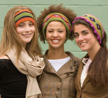 Free Knitting Patterns Knitted Headbands: Folksy Headbands