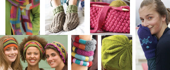 From hats and scarves to knitted bags and bangles, discover all 7 patterns for knitting accessories in this free eBook.