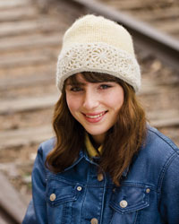Knitting and Crochet Patterns: Snow Queen Hat