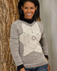 Knitting and Crochet Patterns: Snowflake Sweater