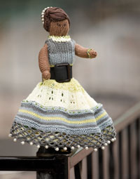 Knitting and Crochet Patterns: Coco Holly Topsy-Turvy Doll