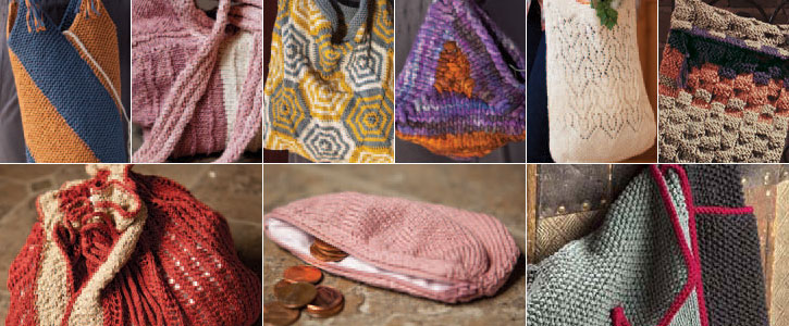 Learn all about how to knit a bag with these 9 knitted bag patterns.