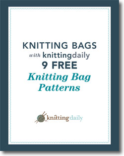Don't forget to download your free knitting bags eBook!