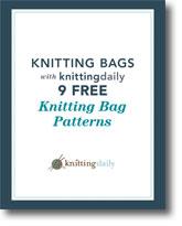 Knitting Bags: 6 Free Knitting Bag Patterns